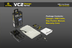 VC2 Charger (Kit) - 18650 Battery | BATTERY BRO - 4