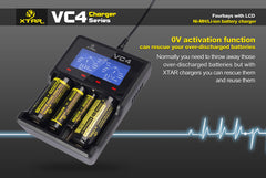 VC4 Charger (Kit) - 18650 Battery | BATTERY BRO - 5