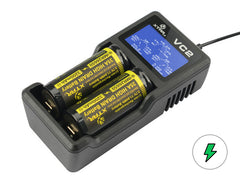 VC2 Charger (Kit) - 18650 Battery | BATTERY BRO - 1