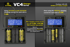 VC4 Charger (Kit) - 18650 Battery | BATTERY BRO - 6