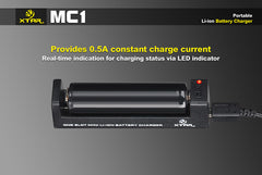 MC1 Charger - 18650 Battery | BATTERY BRO - 3
