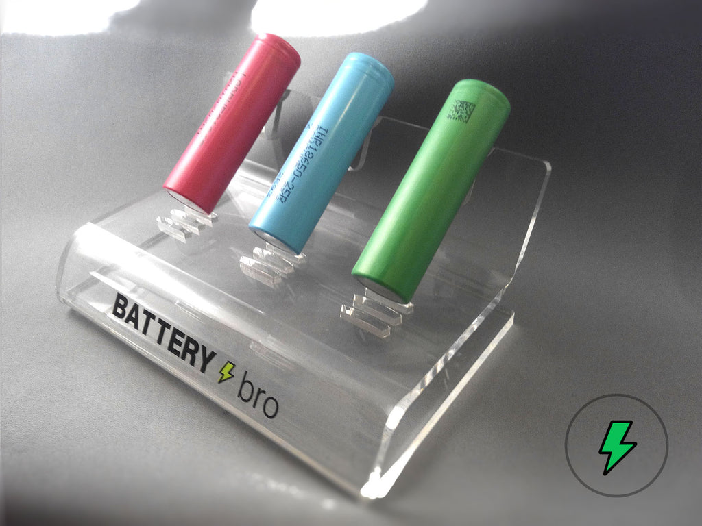 Free Gift: 18650 Battery Stand - 18650 Battery | BATTERY BRO