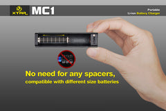 MC1 Charger - 18650 Battery | BATTERY BRO - 5