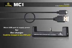 MC1 Charger - 18650 Battery | BATTERY BRO - 7