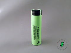Panasonic NCR18650B (Unprotected, Flat-top) - 18650 Battery | BATTERY BRO - 1