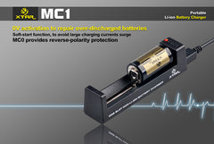 MC1 Charger - 18650 Battery | BATTERY BRO - 9