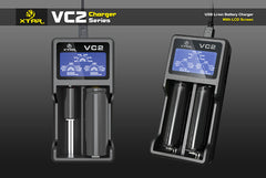 VC2 Charger (Kit) - 18650 Battery | BATTERY BRO - 11