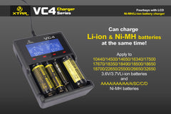VC4 Charger (Kit) - 18650 Battery | BATTERY BRO - 8