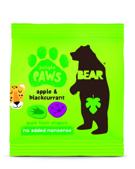 Bear Paws Jungle Äpple & Svartvinbär