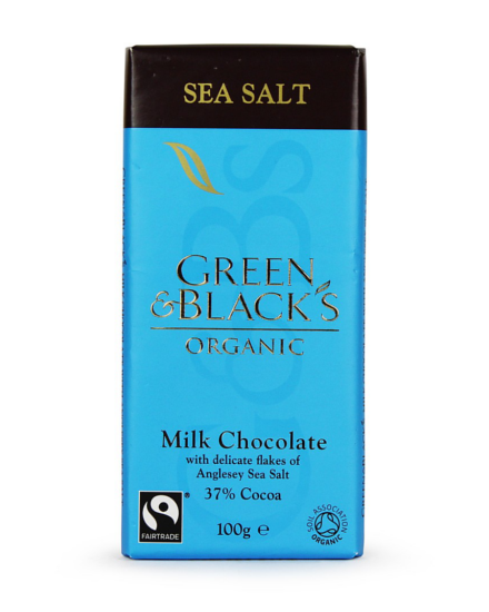 Green & Black's Sea Salt Mjölkchoklad