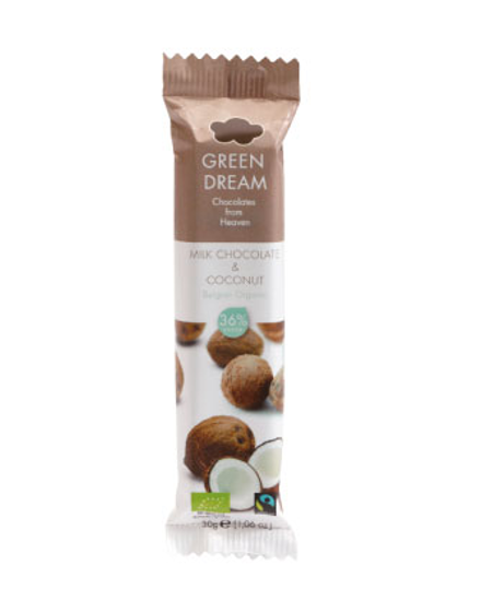 Green Dream Chokladbar Kokos