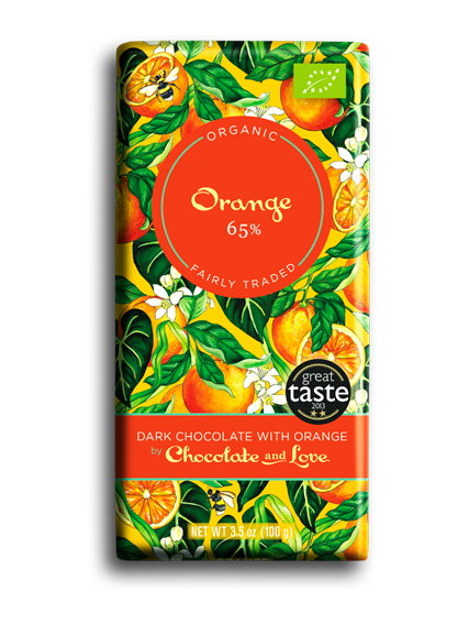 Chocolate and Love milk & Orange