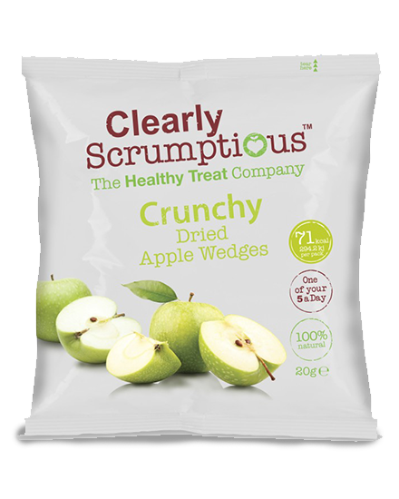 Clearly Scrumptious Crunchy Dried Apple Wedges