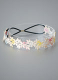 Embroidered Flowerband