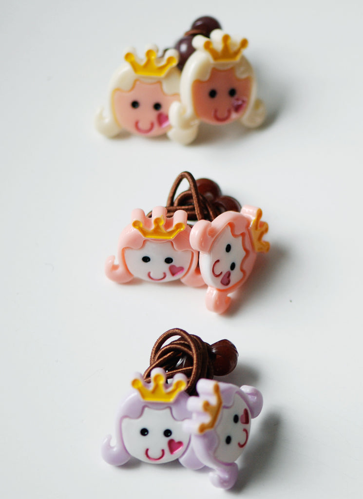 Girl Crown Hairties