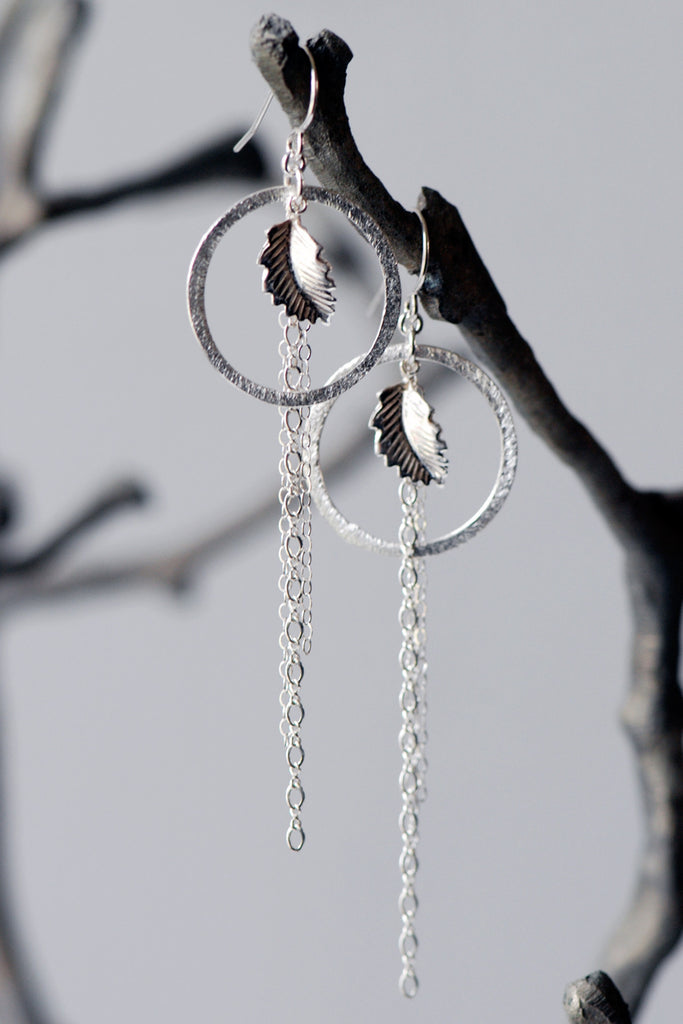 Nydia Silver Earring