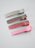 Polka Print Pin Set