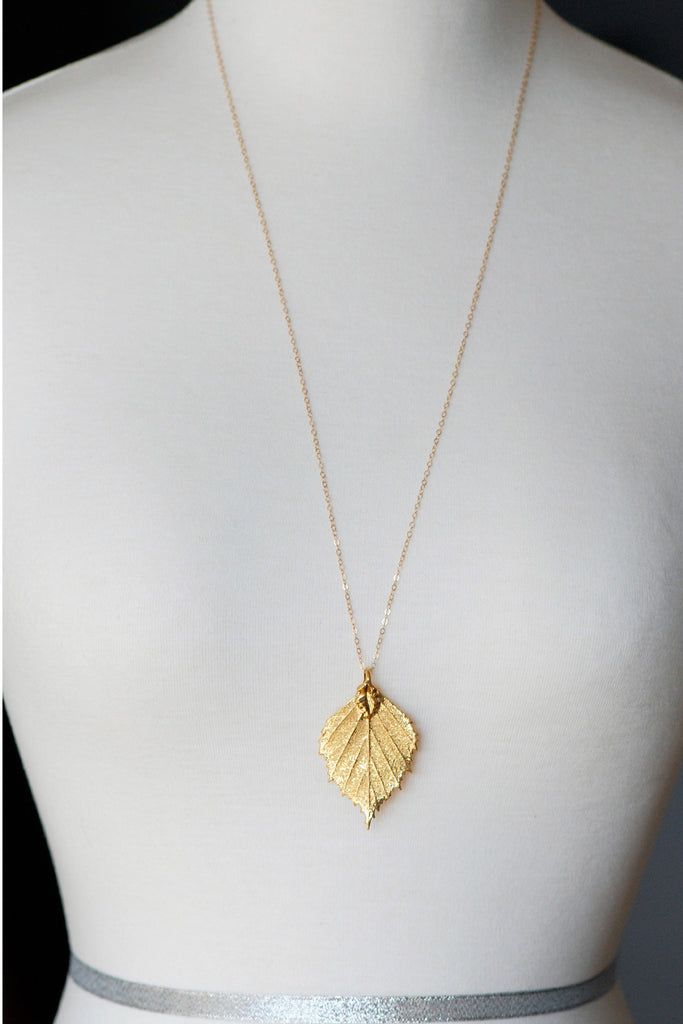 September Gold Necklace