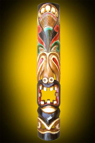Indonesian Hand Painted Tiki Mask