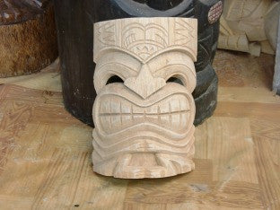 BIG KAHUNA TAHITIAN MASK UNFINISHED 8""
