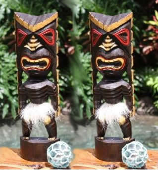 Bulk Buy TWO Big Chief Tiki Gods 16""