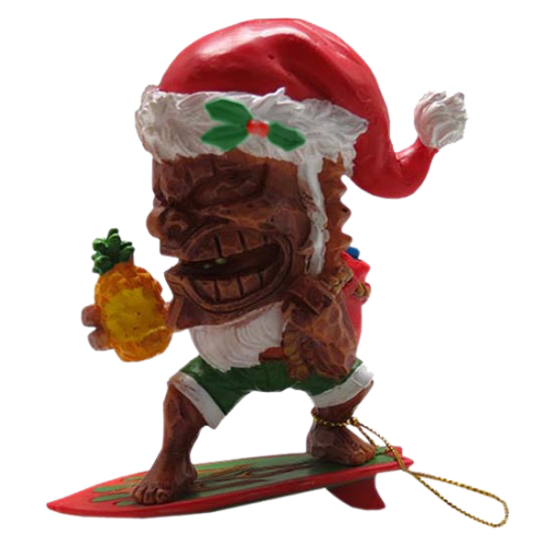 Tiki Christmas Ornament