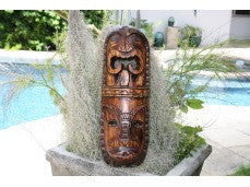 "FIJIAN MASK - 20"" LOVE & PROSPERITY"