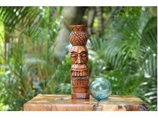 Pineapple Tiki Statue 8""