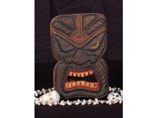 "TIKI MASK 8"" WALL PLAQUE ""EVIL SPIRIT HUNTER"""