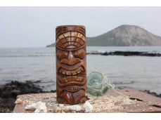 "Love Tiki Totem 5"" - Antique Finish  - Special Price!"