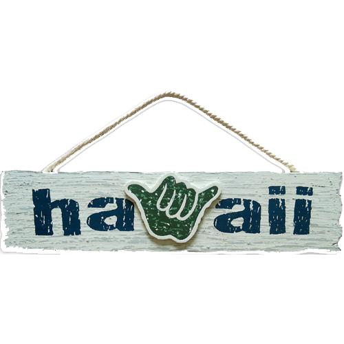 Hawaii Wood Sign