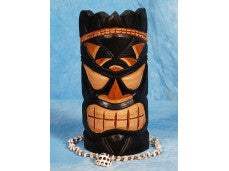 "SMOKIN' ACES TIKI MASK 12"" - POP ART TIKI DECOR"