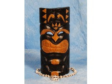 CARVED TAHITIAN MASK 12""