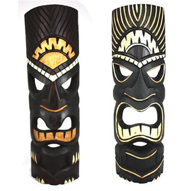 "Best Sellers Tiki Mask Package Deal 2 20"" Masks"