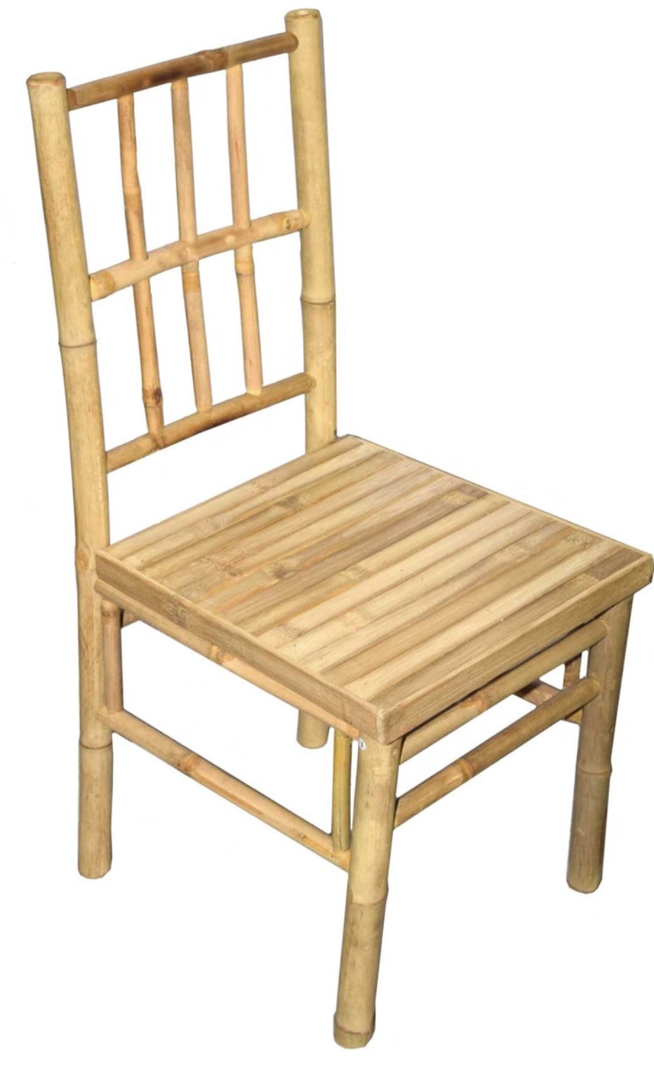 Pair of Bamboo Dining Chairs