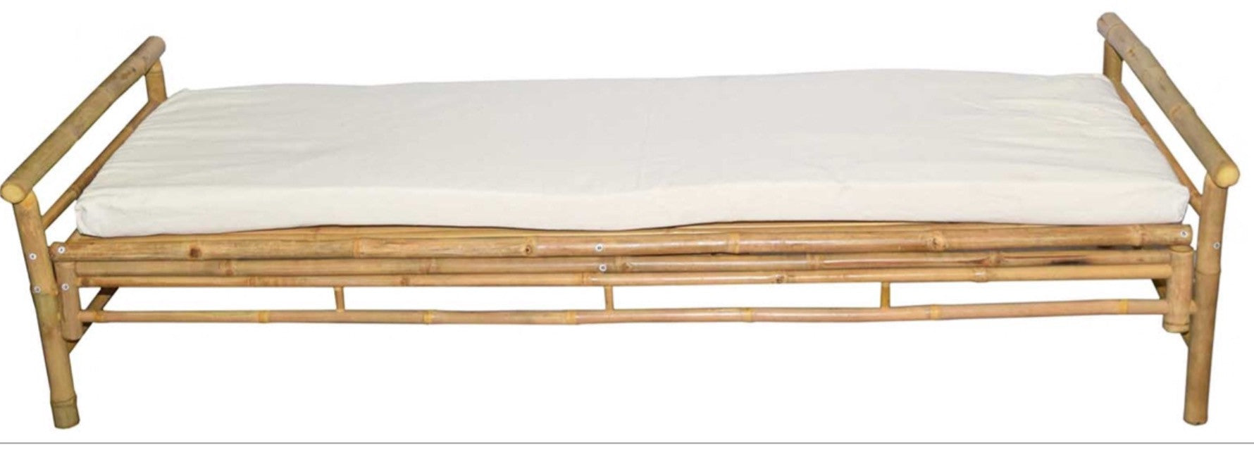 Bamboo Lounger With Cushion