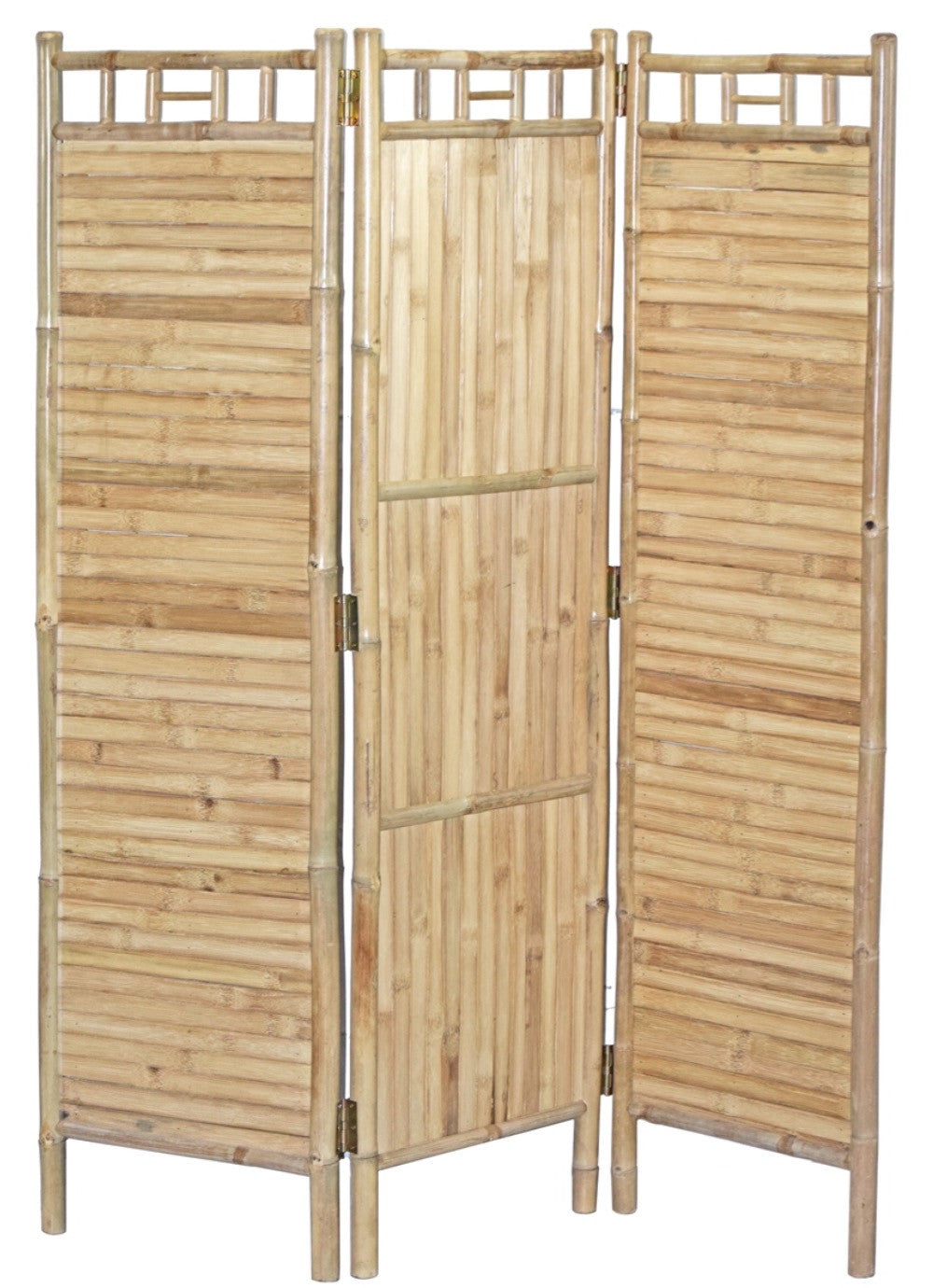 Bamboo Screen 3 Panel Flat Bamboo