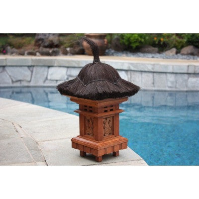 "BALINESE OUTDOOR LANTERN - 20"" OUTDOOR LIGHT"