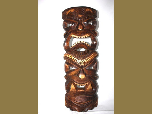 LOVE AND PROSPERITY TAHITIAN MASK 24""