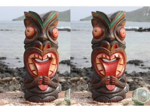 2 Big Kahuna Tiki Masks - Package Deal 12""