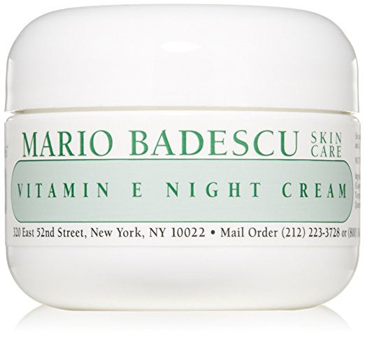 Mario Badescu Vitamin E Night Cream, 1 oz.