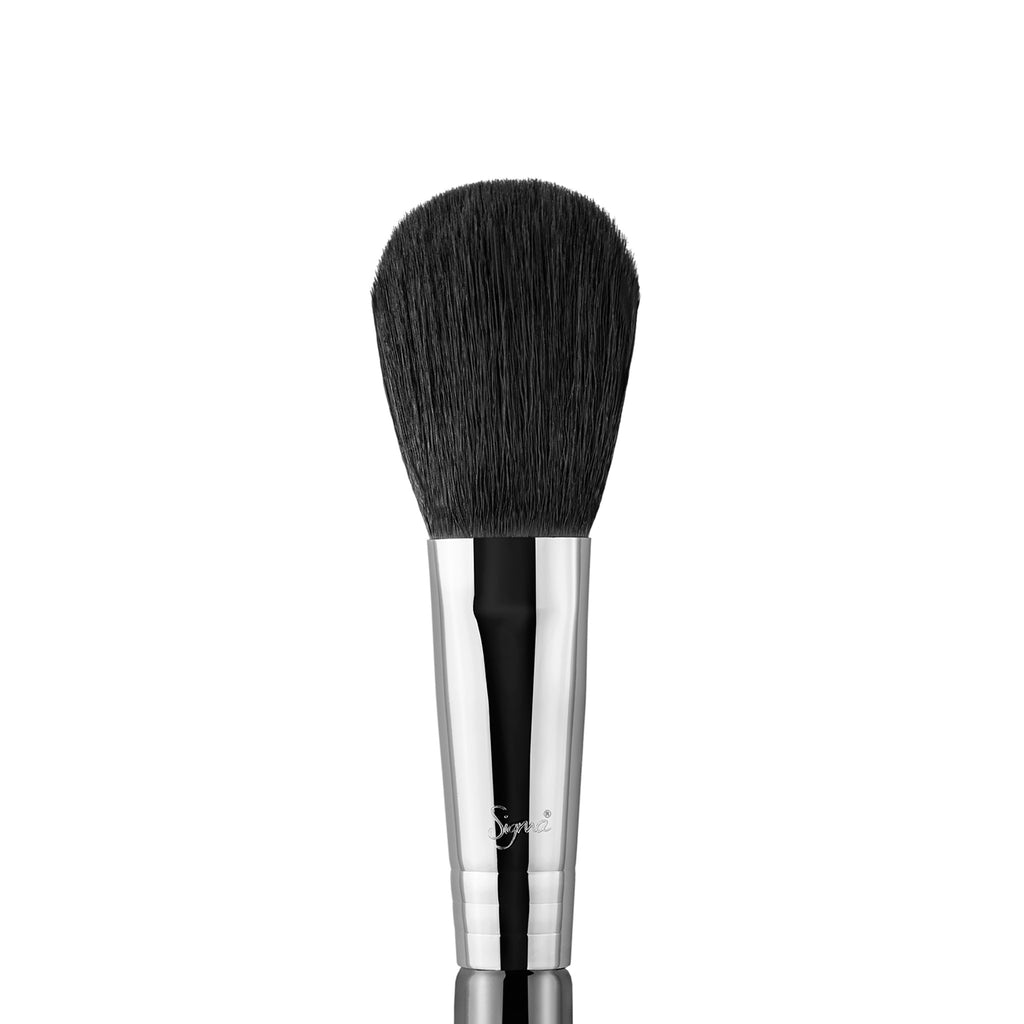 Sigma F10 Powder/Blush Brush chrome