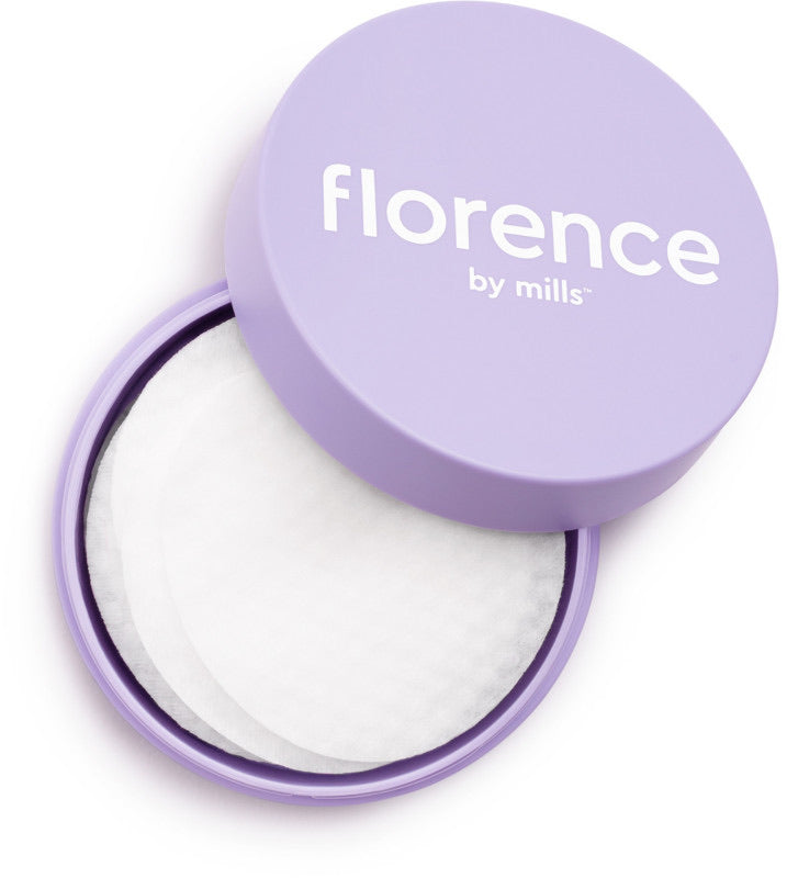 Florence by Mills - One Swipe Glow Wipe Treatment Pads