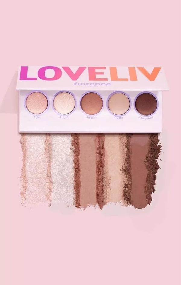 Florence by Mills- LoveLiv Eyeshadow Palette