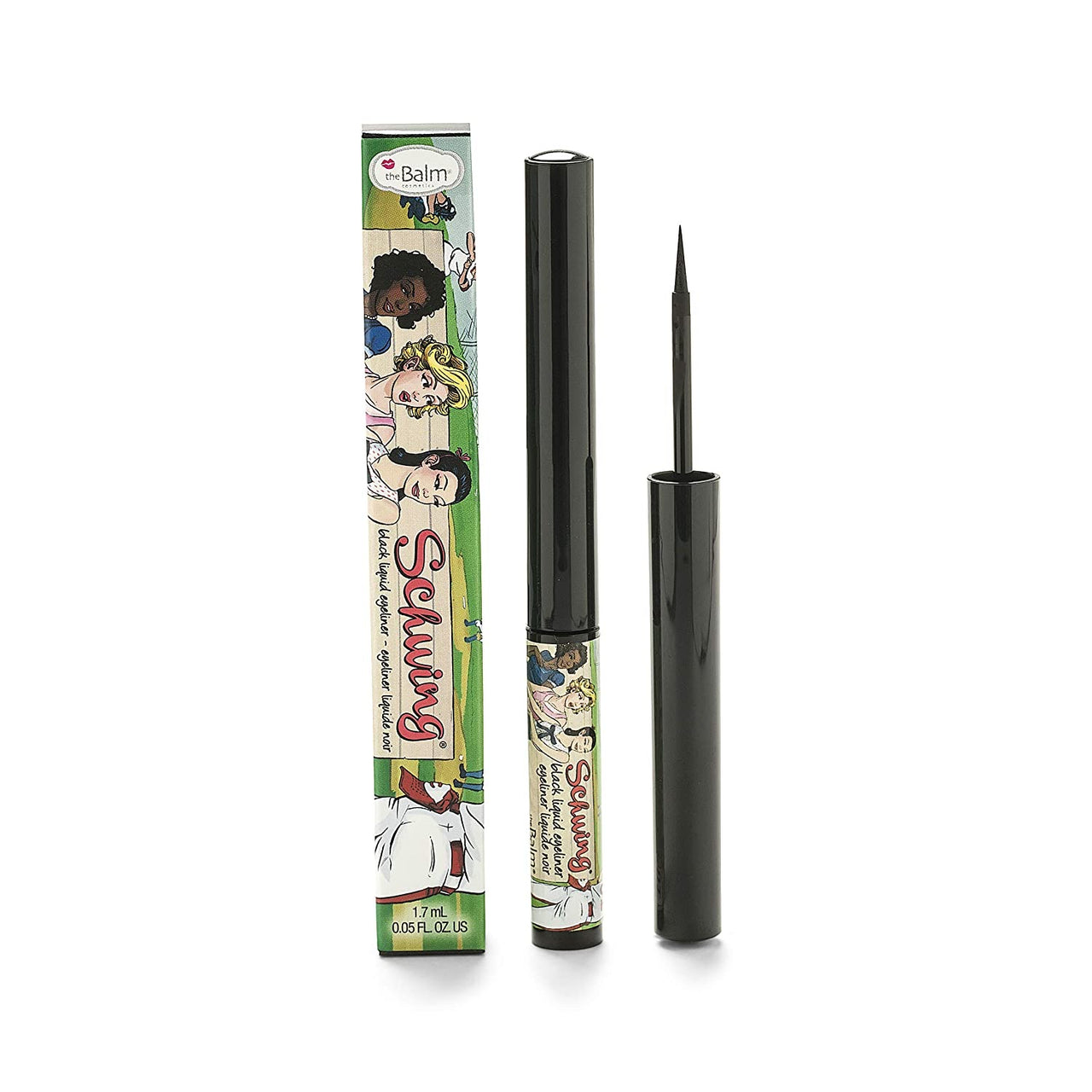 The Balm - Schwing Liquid Eyeliner - Black