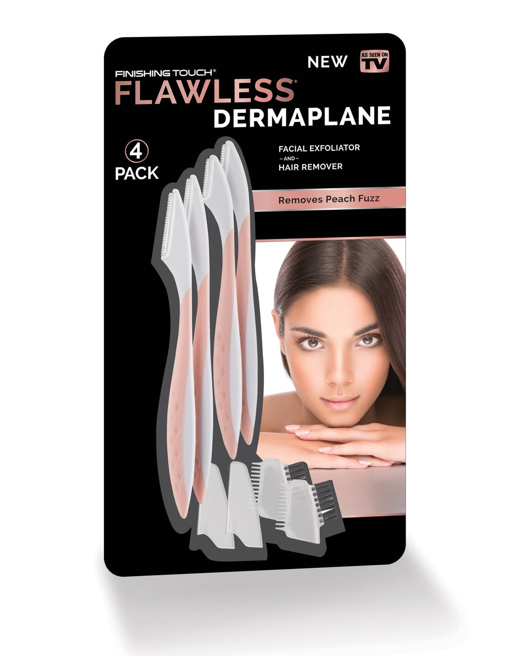 Finishing Touch Flawless Dermaplane Facial Exfoliator Hair Remover