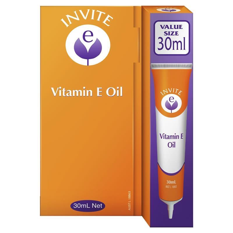 Invite - Vitamin E Oil (30ml)