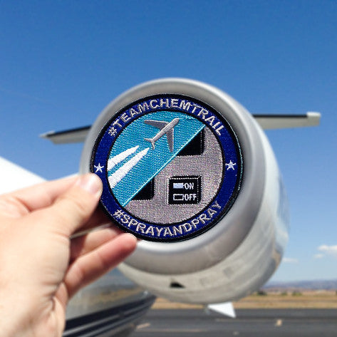 Team Chemtrail Classic Patch