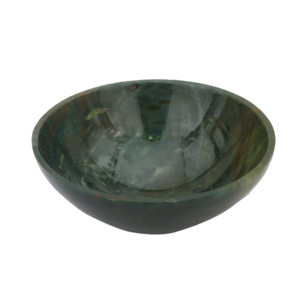Blood Stone Bowl 2.5 Inches