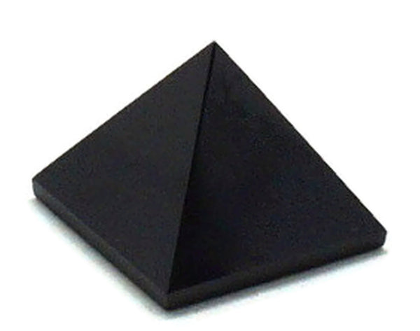 Black Tourmaline Pyramid 2 Inches